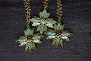 PHOENIX NECKLACE /// LAGOON GREEN