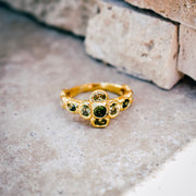 HELIOS RING /// GREEN