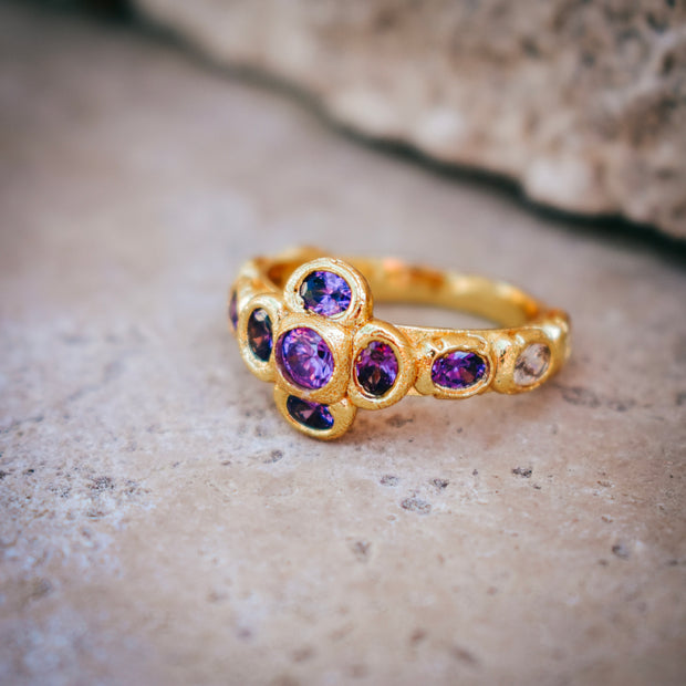 HELIOS RING /// PURPLE