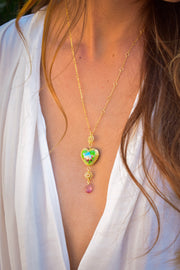 CAMILLA NECKLACE /// GREEN
