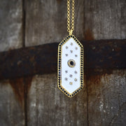 ELOISE NECKLACE /// WHITE