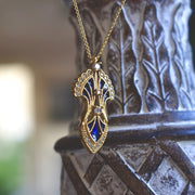 SERENDIPITY NECKLACE /// LAPIS BLUE