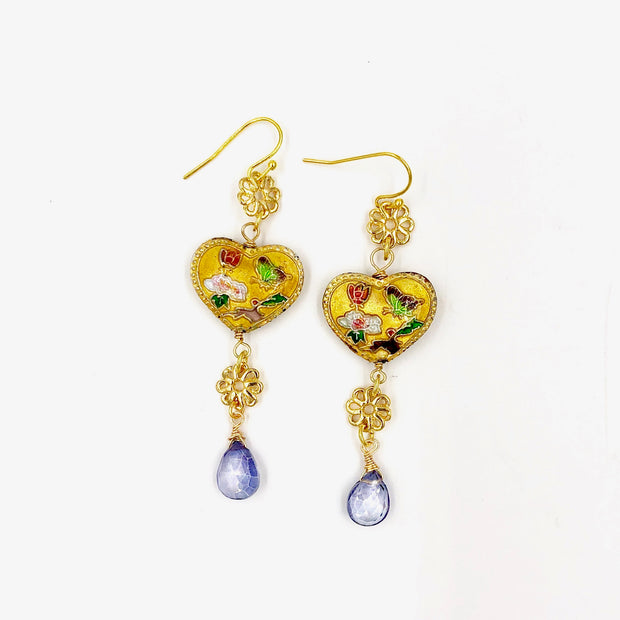 CAMILLA EARRINGS /// YELLOW