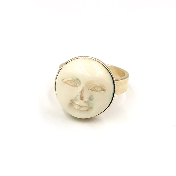 MAN IN THE MOON RING /// SILVER