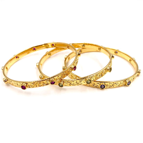 LAUREL CUFFS /// GOLD