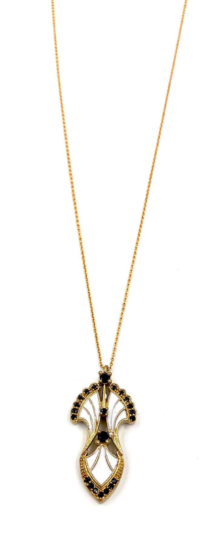 SERENDIPITY NECKLACE /// WHITE