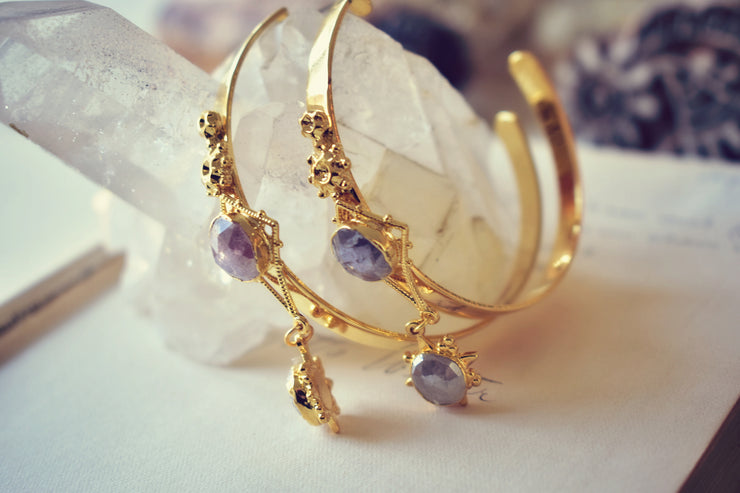 LUCCA HOOP EARRINGS