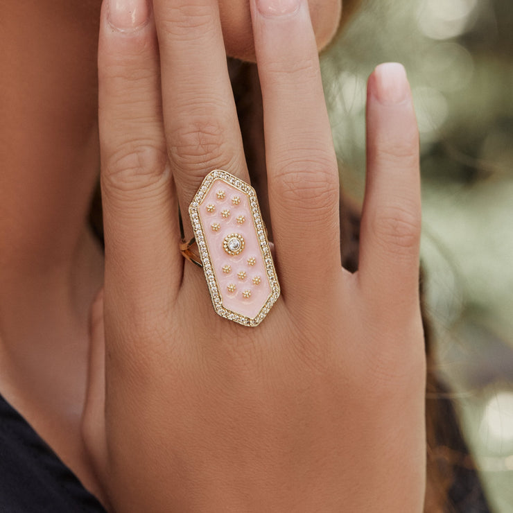 ELOISE RING /// PINK