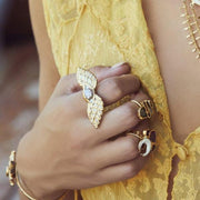 ISLA RING /// YELLOW