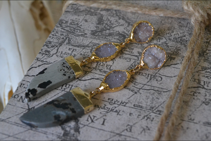HORN DRUZY EARRINGS