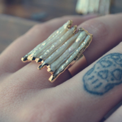 MERMAID DREAMS RING /// GOLD OR SILVER