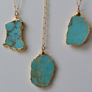 MASSIF MEDIO AQUA NECKLACE /// GOLD