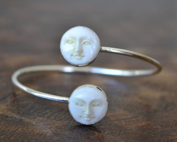 Man in the Moon Bracelet
