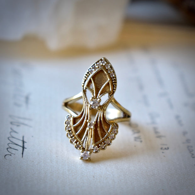 SERENDIPITY RING /// GOLD