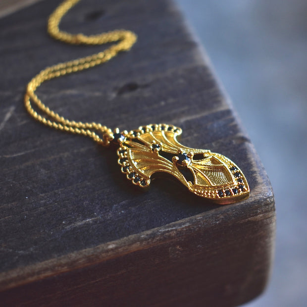 SERENDIPITY NECKLACE /// GOLD
