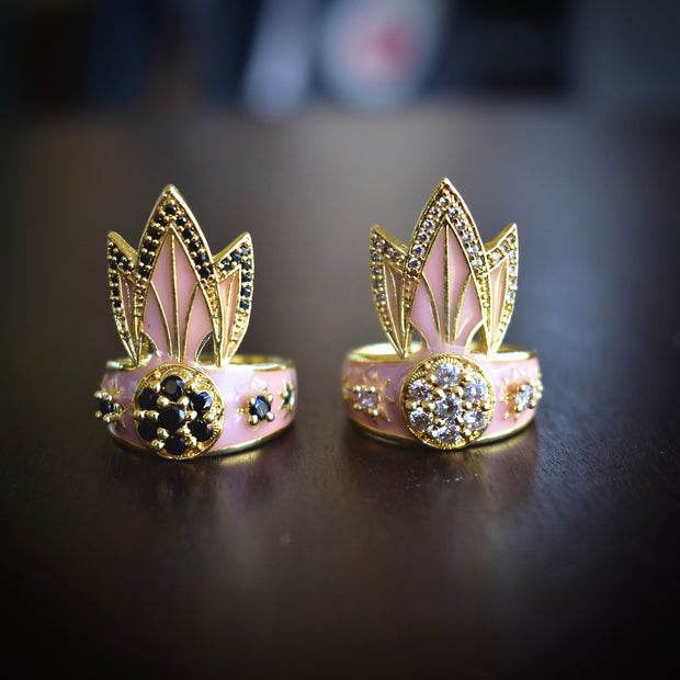 TIGER LILY RING /// PINK