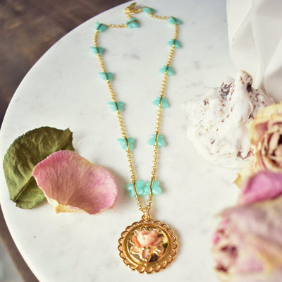 BUTTERFLY GARDEN NECKLACE