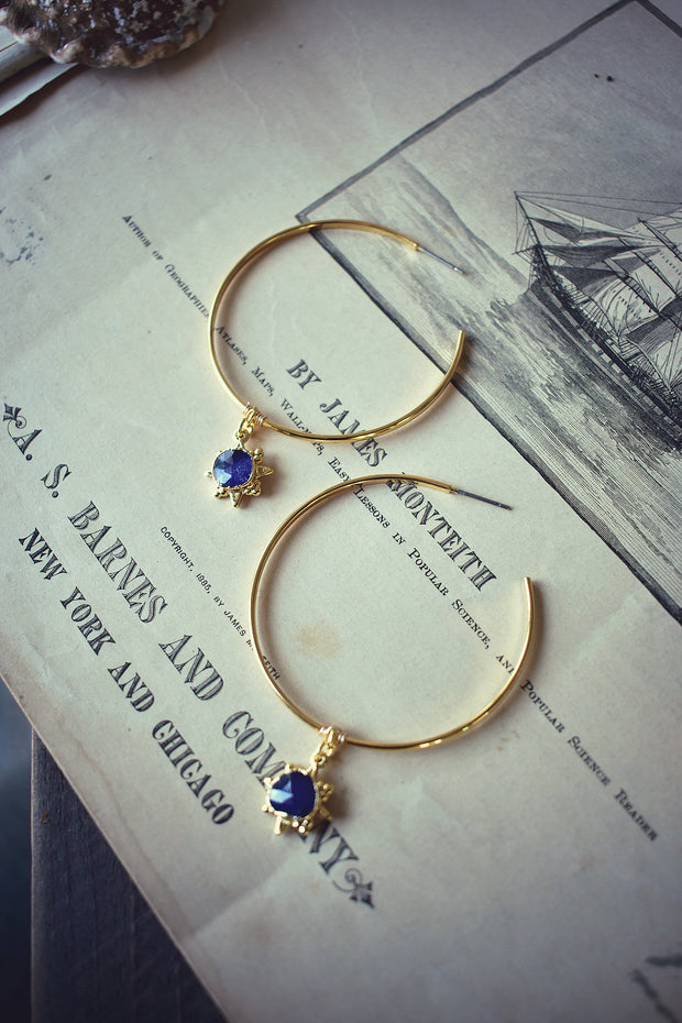 SIENNA HOOP EARRINGS