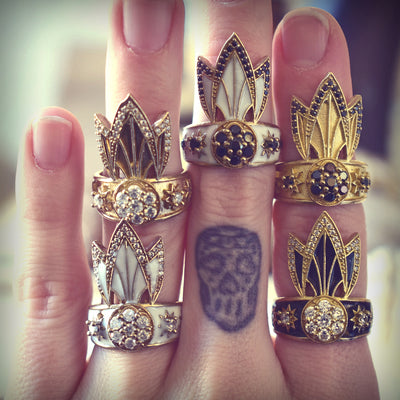 TIGER LILY RING /// GOLD