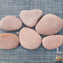 Load image into Gallery viewer, Red Skipping Stone - Personalized Engraving