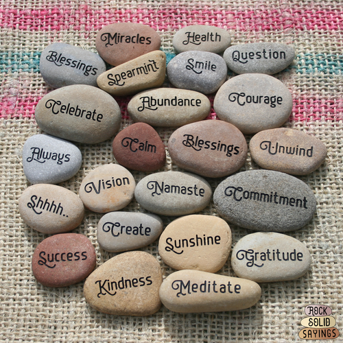 Small 10 Character - Custom Engraved Natural Stone