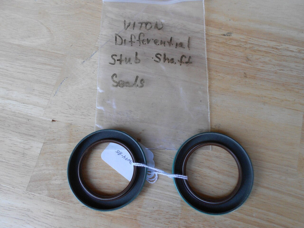 Differential output/stub shaft seals