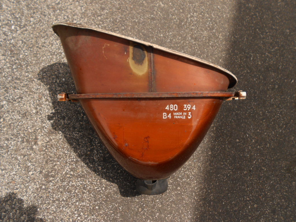 Right Cibie Euro Headlight Bucket In Fair Condition