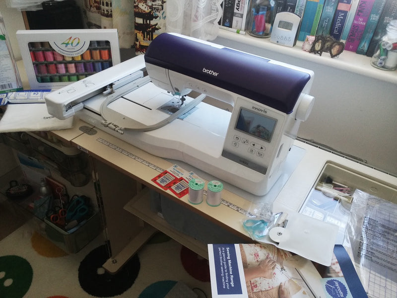 My review of the Brother Innov-is NV800E Embroidery Machine