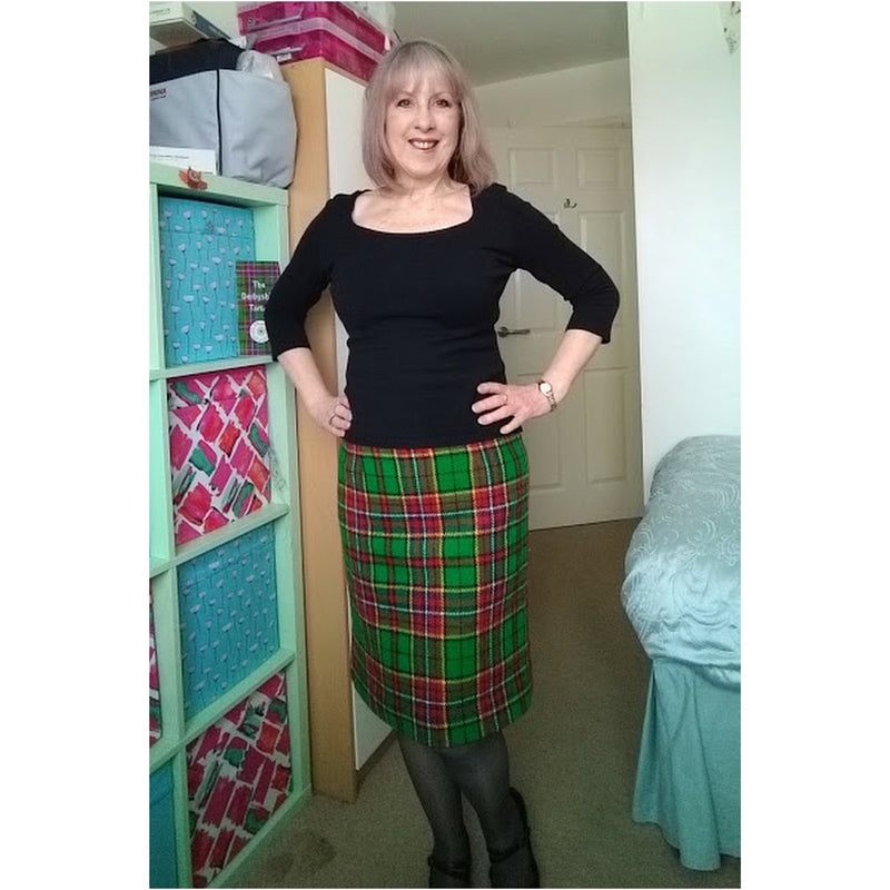 My very special Derbyshire Tartan Skirt