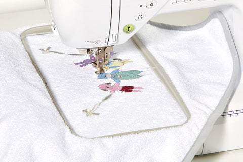 Brother embroidery at Jaycotts