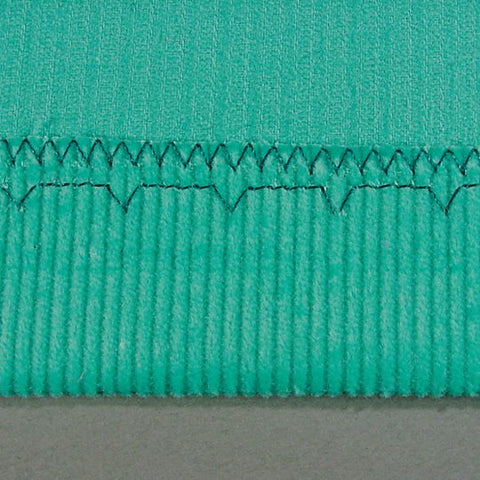 Example of blind hem sewing with Bernina