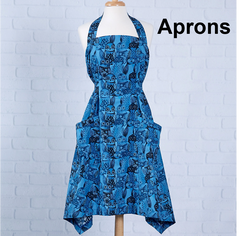 Sewing patterns for Aprons at Jaycotts