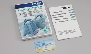 Brother Premium Upgrade Pack 2 for the Brother Innov-is V5 at Jaycotts - - Sew Happy - -