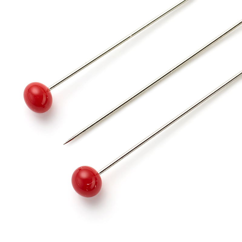 Glass-Headed Pins | Super Fine | 5g pack