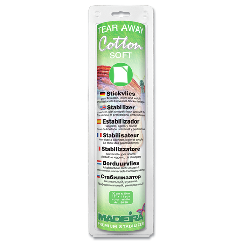 Madeira Stabilizer | Cotton Soft Tear Away
