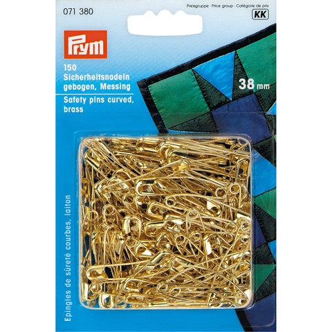 Pack of 150 Curved Saftey Pins for quilting