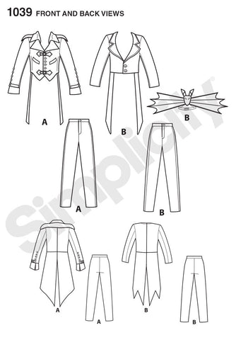 S1039 Men's Cosplay Costumes
