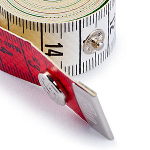 Tape measure Color Plus with button