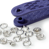 Prym Jersey Press Fasteners - Ring Style from Jaycotts Sewing Supplies