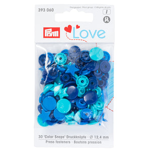 Prym Colour Snaps - Stars Packs of 30