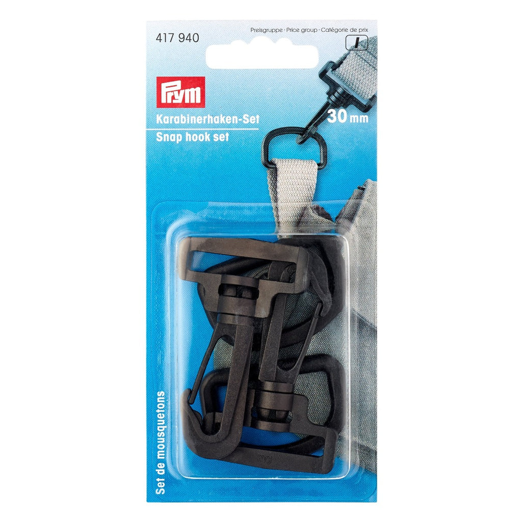 Prym Rucksack Snap Hooks from Jaycotts Sewing Supplies