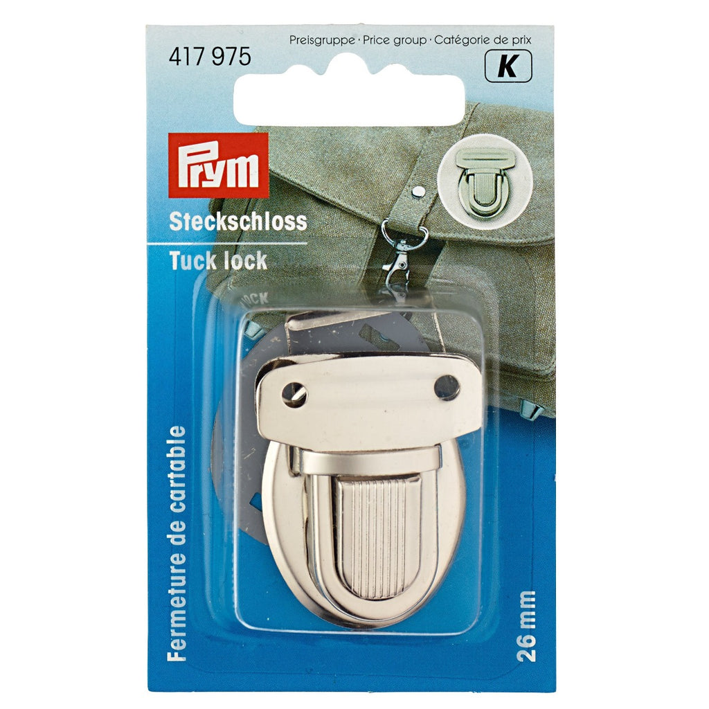 Prym Tuck Lock Bag Fastenings from Jaycotts Sewing Supplies