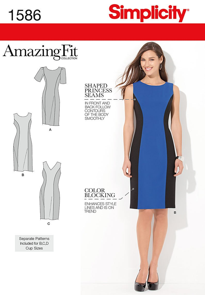 S1586 Amazing Fit Dress