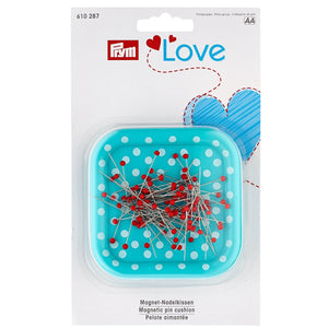 Prym Love Magnetic Pin Cushion - with pins from Jaycotts Sewing Supplies