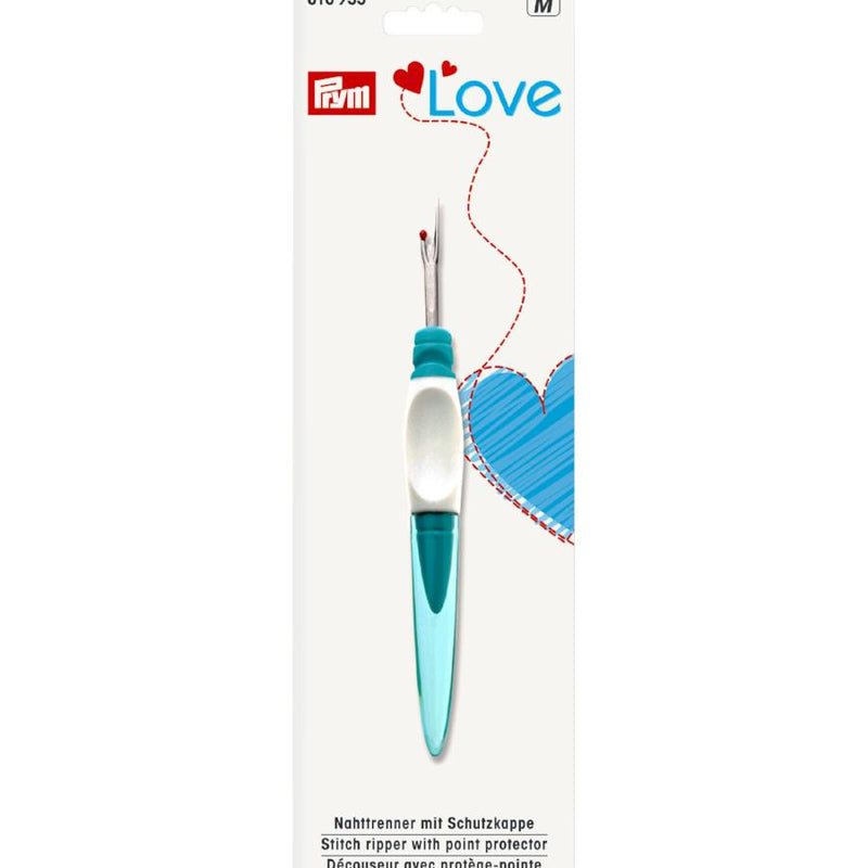 Prym Love Soft Grip Seam Ripper | Small from Jaycotts Sewing Supplies