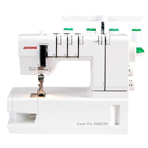 Janome Cover Pro 2000CPX coverstitch machine - at Jaycotts - - Sew Happy