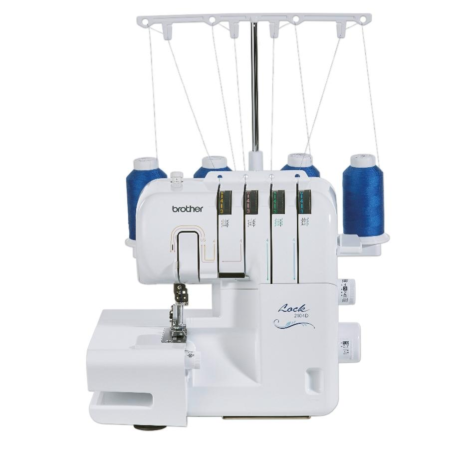 Brother 2104D Overlocker from Jaycotts Sewing Supplies