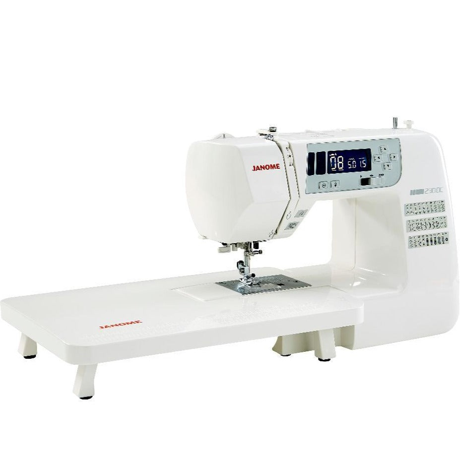 Janome 230DC sewing machine from Jaycotts Sewing Supplies