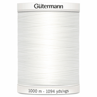 Sew-All Polyester Sewing Thread - Colour: #800 White