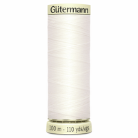 Sew-All Polyester Sewing Thread - Colour: #111 Off White